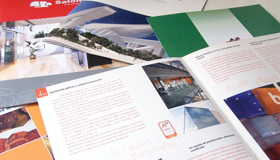 Diseño de catálogos y perfiles de empresa